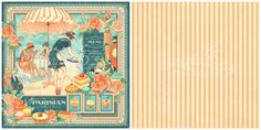 The signature page of Cafe Parisian, a new collection from Graphic 45!