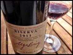 El Alma del Vino.: Fattoria di Fiano Ugo Bing Chianti Colli Fiorentini Riserva 2011.