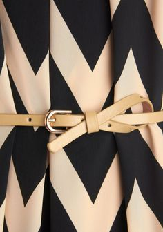 Like the way this belt is fastened.