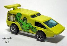 The Hulk Hot Wheels Car