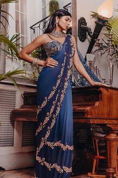 Stylish Sarees, Elegant Saree, Indian Couture, Bridal Style, Latest Fashion Trends, Wedding Styles, Brides, Ethnic, Fashion Inspiration
