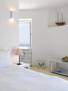 A fascinating design hotel in Greece in a Windmill in Kimolos island - ITALIANBARK interior design blog