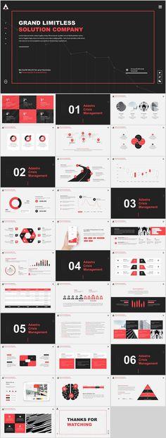 ultimate solution company creative PowerPoint templ on Behance - PPT - Design Ppt Design, Design Brochure, Slide Design, Ppt Template Design, Keynote Design, Booklet Design, Design Layouts, Graphic Design, Design Art