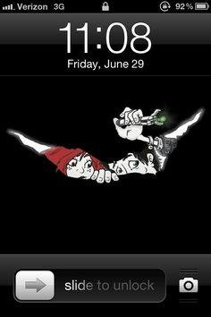 My IPhone has a crack...... - Imgur