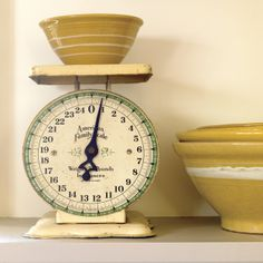Scale and yellow ware