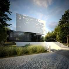 3 Poziomy domu by S3NS Architektura - Igor Kazmierczak, via Behance