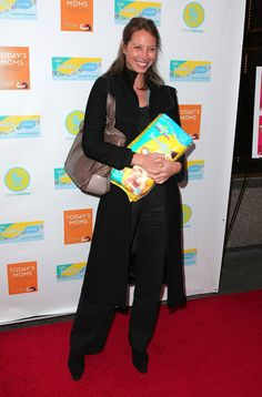 """Christy Turlington Photos Photos - Model Christy Turlington promotes """"Today's Moms - Essentials for Surviving Baby's First Year"""" at Rouge Tomate on April 7, 2009 in New York City.  (Photo by Andrew H. Walker/Getty Images) * Local Caption * Christy Turlington - """"Today's Moms - Essentials for Surviving Baby's First Year"""" Book Launch"""