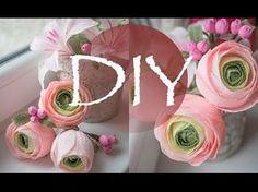 Ягодки из гофрированной бумаги, цветы из бумаги DIY Tsvoric Corrugated paper, flowers made of paper - YouTube