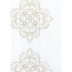 White and Gold on Silver Bacground: IRR20603W
