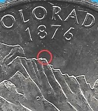 Mint Error- Uncirculated 2006 P Colorado State Quarter Die Cud- No Stock Photos! Rare Coins Worth Money, Valuable Coins, Coin Collection Value, How To Clean Coins, Old British Coins, State Quarters, Coin Shop, Coin Worth, Error Coins