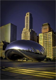 Anish Kapoor #CloudGate, #Chicago