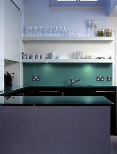 Green Splashback by Round House Design