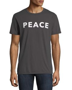 39dea4d3 Shop Peace Graphic Tee from Chaser at Neiman Marcus Last Call, where you'll  save as much as on designer fashions.