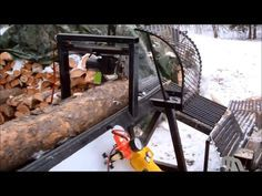 How to build a Homemade Firewood Processor from Scrap Metal .Easy way to cut wood……….   Practical Survivalist   Page 2