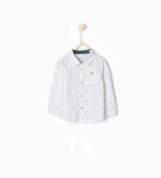 Musical notes shirt-Shirts-Baby boy-Baby | 3 months - 3 years-KIDS | ZARA United States