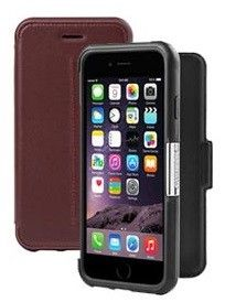 The OtterBox Strada Series Case for iPhone 6 Plus/6s Plus is the only leather smartphone case with trusted OtterBox protection.