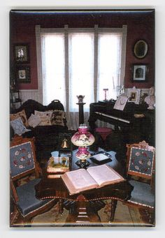Victorian Parlor at Old Depot Museum photo magnet Victorian Parlor, Victorian Homes, Photo Magnets, Museum, Painting, Art, Art Background, Painting Art, Kunst