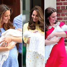 Duchess Catherine of Cambridge- From left: Prince George, Princess Charlotte and Royal Baby Boy April 2018 Prince William And Catherine, William Kate, Prince And Princess, Princess Of Wales, Lady Diana, Duke And Duchess, Duchess Of Cambridge, Looks Kate Middleton, Prinz Harry