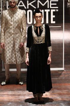 By designer Sabyasachi Mukherjee. Bridelan - Personal shopper & style consultants for Indian/NRI weddings, website www.bridelan.com #Sabyasachi #LakmeFashionWeek2016 #weddinglehenga #Bridelan #BridelanIndia