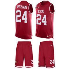 7b3d02337ef Nike Falcons Matt Ryan Red Team Color Men's Stitched NFL Limited Tank Top  Suit Jersey And Aqib Talib 21 jersey