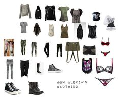 """World of Walkers Alexia's clothing"" by alexias-fashion ❤ liked on Polyvore featuring Vision, Nicholas K, Crea Concept, AllSaints, Diesel Black Gold, Anama, Altuzarra, BUFF, Religion Clothing and Killstar"