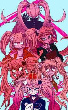 Junko Enoshima and her multiple personalities