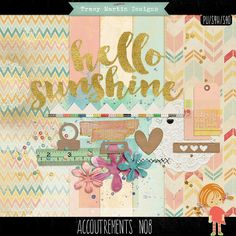Quality DigiScrap Freebies: Accoutrements No 8 mini kit freebie from Tracy Martin Designs