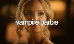 Vampire Barbie and Barbie Klaus (Caroline & Rebekah)