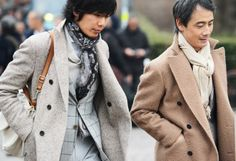 Street Style at the European Men's Shows