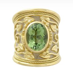 tapered Templar ring, Elizabeth Gage