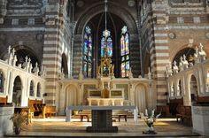 Le chœur de l'église Saint-Vaast