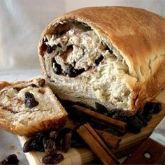 """Cinnamon Raisin Bread I 