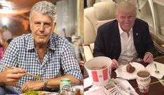 """Anthony Bourdain Was Just Asked If He Would Dine With Drumpf. His Answer Is PERFECT """"Absolutely f—ing not,"""" ..more read..."""