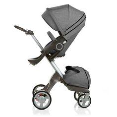 Black Melange Stokke Xplory. I really really love this stroller!  #beautifulbabyshower
