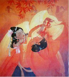 'Radha Krishna' - Oil on Canvas