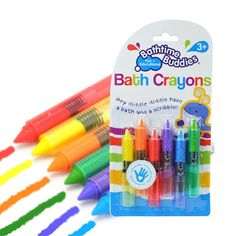 6 Pcs Drawing Toys Bath Toy Baby Bath Crayons Toddler Washable Bathtime Safety F. 6 Pcs Drawing To Kids Bath Toys, Kids Toys, Bath Crayons, Baby Bath Time, Educational Toys For Kids, Toddler Fun, Baby Kind, Baby Safe, Remote Control Toys