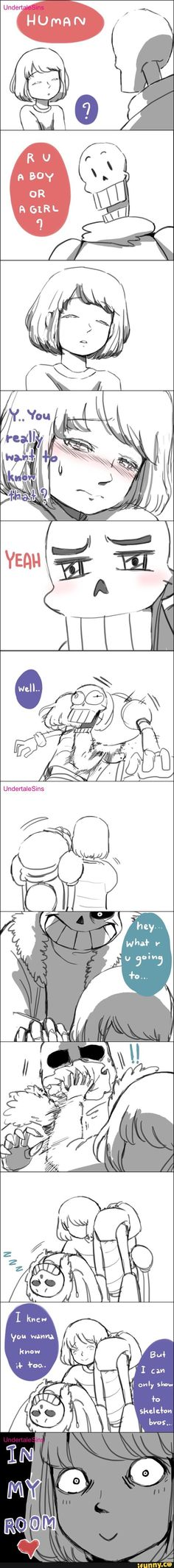 Undertale comic || I didn't really quite understand what's going on but it looks funny