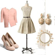 Mullany Dress with pink