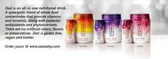 The best stuff on earth that you can put into your body. Zeal Wellness.