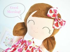 Good Morning!! Early start at the sewing machine this morning - cracking on with some lovely dollies here at Little Ida HQ! 😍. #dollsofinstagram #clothdoll #littleidadolls #strawberry #littleidahq #quality #mumpreneur #shannonplush #minkyhair #goodmorning #sewistsofinstagram #sew #custommade #tuesdaymotivation #numondayseller #numonday