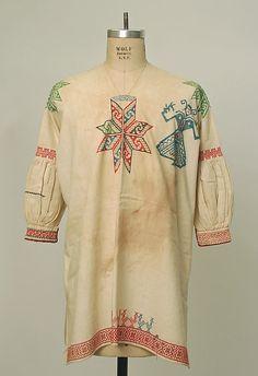 Shirt Date: 1930–41 Culture: Mexican Medium: cotton