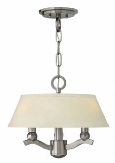 Master Bedroom Fixture Hinkley Lighting - Whitney 4611BN $359