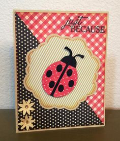 "Cricut ""Just Because"" Cards"