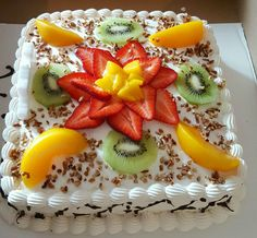 Gourmet Cakes, Food Cakes, Cupcake Cakes, Mexican Food Recipes, Sweet Recipes, Baking Recipes, Cake Recipes, Kreative Desserts, Fresh Fruit Cake
