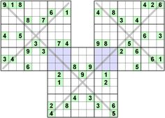 Number Logic Puzzles: 22241 - Sudoku size 9