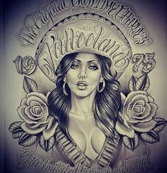 Image may contain: 1 person Chicano Art Tattoos, Chicano Drawings, Body Art Tattoos, Art Drawings, Arte Cholo, Cholo Art, Aztecas Art, Mexican Artwork, Chicano Love