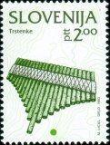 SLOVENIA. Trstenik (pipas) es un instrumento musical muy antiguo que ya se conocía en la antigua Grecia bajo el nombre de syrinx.