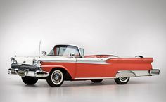1959 Ford Galaxie Skyliner Retractable Hardtop - Car Pictures