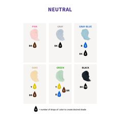 Color Right - Icing Color Chart