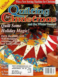 2001 Quilter's Newsletter Quilt It Magazine For Kids 16 Projects ... : quilt it for christmas magazine - Adamdwight.com